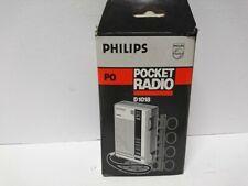 Pocket Radio Phillips Pocket Radio D1018 MW Brand New Vintage Boxed New Gift