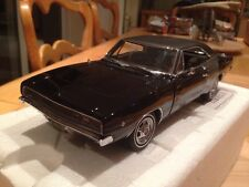 Franklin / Danbury Mint 1/24 Dodge Charger 1968 Bullitt Assassins Chase Car MIB