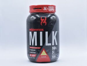 CytoSport Monster Milk 50g Protein Powder, Banana Flavor, 2.6lb, EXP: 05/22