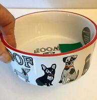 French Bulldog And Friends Stoneware Bowl