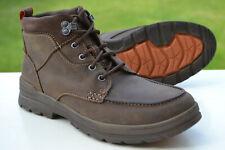 Clarks BNIB Mens Walking Hiking Boots RYERSON DALE Brown Nubuck UK 9 / 43