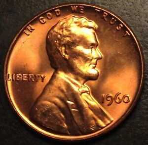 1960 P Lincoln Memorial Cent Uncirculated #366
