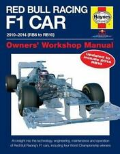 Red Bull Racing F1 Car Manual 2nd Edition: 2010-2014 (RB6 to RB10) (Owners' Work