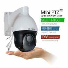 960H  700TVL AHD CCTV Security Camera Outdoor PTZ color Night Vision 3X zoom