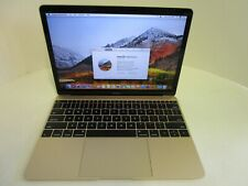 Apple MacBook 10,1 Core m3 1.2 GHz 256 GB SSD 12-inch Mid 2017 Gold macOS Loaded