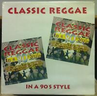 Asher Presents - Classic Reggae In A 90's Style LP New Sealed AALP 3104 Roots