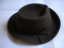 GERMANY BROWN FEDORA HAT