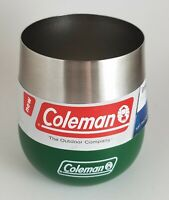 New Coleman 2010842 Claret 13 Oz Insulated Tumbler/Glass (Heritage Green)