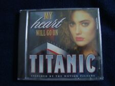 TITANIC - MY HEART WILL GO ON - CD (BRAND NEW AND FACTORY SEALED)