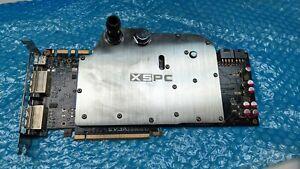 PAIR Nvidia EVGA GTX 580 Watercooled XSPC Waterblocks 1.5GB