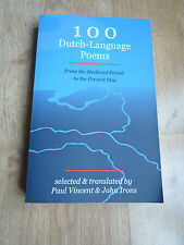 100 Dutch-Language Poems: From the Medieval Period to the Present Day