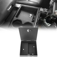Inner Duable Organizer Box Center Console Lock Vault for Ram 1500 09-18 Pickup