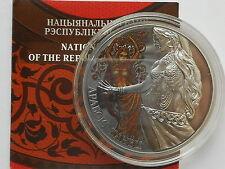 Belarus  Weißrussland  20 rubel 2011 Arabic Dance silver 28.3 gr