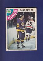 Dave Taylor RC 1978-79 O-PEE-CHEE Hockey #353 (VGEX+) Los Angeles Kings