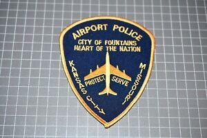 Kansas City Missouri Airport Police Patch (S01-2)
