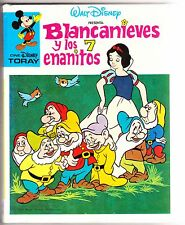 Cine Disney Toray nº 1: BLANCANIEVES Y LOS 7 ENANITOS. Ed. Toray, 4ª ed., 1981.