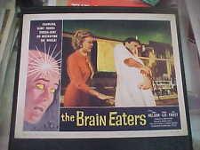 THE BRAIN EATERS, nr mint orig LCS (Edwin Nelson, Joanna Lee, Alan Frost)