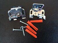 2 x Venetian Blind Brackets fit 25mm Metal Venetians Frame/ Face /Top fix (25mm)