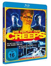 LA NOCHE EL CREEPS Sin Cortes DIRECTORS CUT Tom Atkins Night of the BLU-RAY