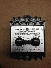 TGSR06Z GE Ground Fault Relay 120VAC/DC