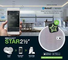 "KB Sound Select Star DAB/FM Radio & Bluetooth 2.5"" Ceiling Speaker System"