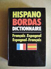 Livre Dictionnaire Français-Espagnol Bordas Espagnol-Français  /U10