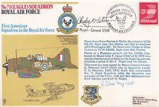 United States Eagle Squadron. 71 (Eagle) Sqn.Signed.General.C.G.Peterson 1st Com