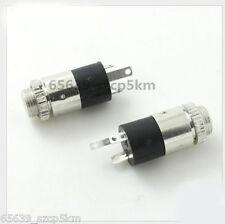 """10PCS 3.5mm 1/8"""" Mini Female Headphone Jack Plug Stereo Audio Panel Mount"""