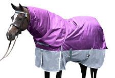 """COMFORT VERSATILE DETACHABLE 2000D 6'3"""" WINTER  PADDOCK HORSE RUG SET(p)"""