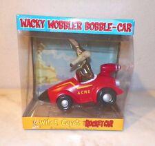 LOONEY TUNES WILE E COYOTE ROCKET CAR FUNKO WACKY WOBBLER BOBBLE ROCKET CAR NIB