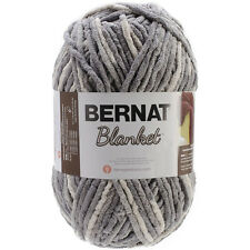 Bernat Blanket Yarn Silver Steel Big Ball 300 Gram Skeins