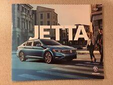 2019 VW JETTA 16-page Original Sales Brochure