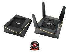 ASUS (RT-AX92U 2 Pack) Performance Mesh Tri-Band AX6100 WiFi Routers - Whole Hom