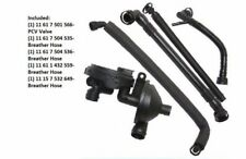 For E53 E85 E83 E60 E39 E46 Crankcase PCV Vent Valve Breather Vacuum Hose Kit