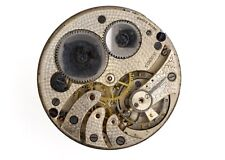 Swiss Lever 19 Ligne Pocket Watch Movement Spares Or Repairs L252