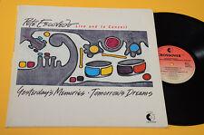 PETE ESCOVEDO LP YESTERDAY'S MEMORIES TOMORROW'S DREAMS ORIG GERMANY 1987 EX GAT