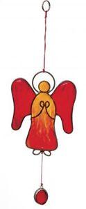 Suncatcher Engel rot/orange