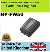 Genuine Sony NP-FW50 Original Battery Alpha NEX-3 NEX-5 NEX-7 A55 A5000 a37 a55