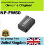 Genuine Sony NP-FW50 Original Battery Alpha NEX-3 NEX-5 NEX-7 A55 A5000 a37 a55