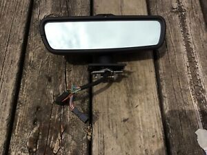Rear View Mirror OEM Autodim Map Black in color Audi A8,S8/D2 2000 Thru 2003