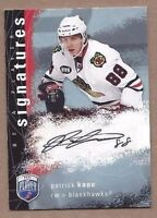 2008-09 BAP hockey card Patrick Kane autographed signed Chicago Blackhawks