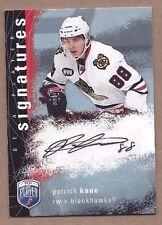 2008-09 BAP hockey card Patrick Kane autographed signed Chicago Blackhawks