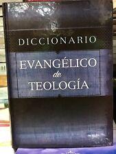 Diccionario Evangélico De Teología tapa dura