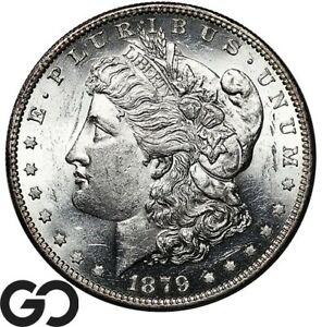 1879-O Morgan Silver Dollar, Blast White Choice BU++ Better Date Blazer!