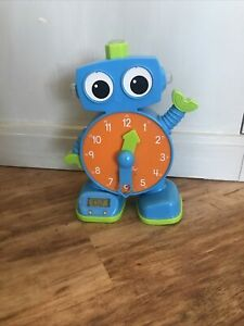 Learning Resources, Inc. Tock the Learning Clock Blue