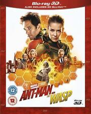 Marvel Ant Man and The Wasp (3D + Blu-ray) (Blu-ray Region Free)