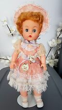 """Vintage Tickletoes 1953 Doll By Reliable, Canada 17"""" Stuffed Vinyl / Rubber VHTF"""