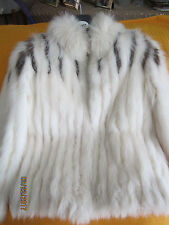 Saga Fox Women's Made in Korea Fox Fur by Wilsons Jacket SZ S
