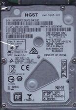 """HGST HTS725050A7E635 pn: 0J47825 mlc: DA7149 500GB SATA 2.5"""" B11-29"""