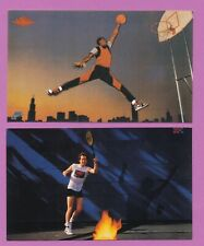 New listing VINTAGE JUMPMAN 1985 NIKE PROMO MICHAEL JORDAN HOF ROOKIE w/JOHN McENROE *TPHLC